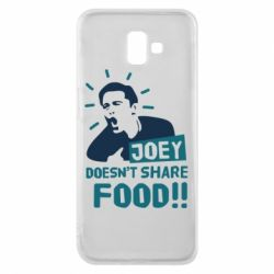 Чехол для Samsung J6 Plus 2018 Joey doesn't share food!