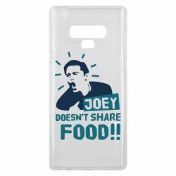 Чехол для Samsung Note 9 Joey doesn't share food!