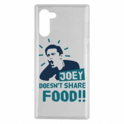 Чехол для Samsung Note 10 Joey doesn't share food!