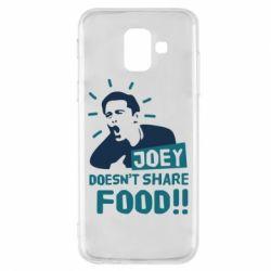 Чехол для Samsung A6 2018 Joey doesn't share food!