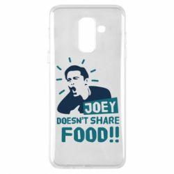 Чехол для Samsung A6+ 2018 Joey doesn't share food!