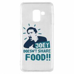 Чехол для Samsung A8 2018 Joey doesn't share food!