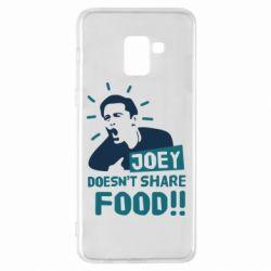 Чехол для Samsung A8+ 2018 Joey doesn't share food!