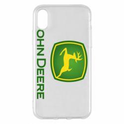 Чохол для iPhone X/Xs John Deere logo