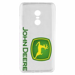 Чехол для Xiaomi Redmi Note 4 John Deere logo