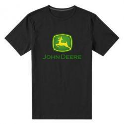 Чоловіча стрейчева футболка John Deere logo