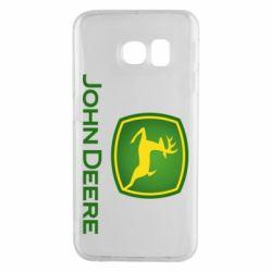 Чохол для Samsung S6 EDGE John Deere logo