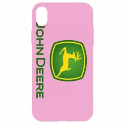Чохол для iPhone XR John Deere logo