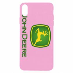 Чохол для iPhone Xs Max John Deere logo