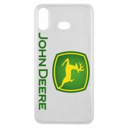 Чохол для Samsung A6s John Deere logo