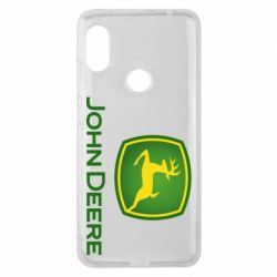 Чехол для Xiaomi Redmi Note 6 Pro John Deere logo