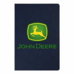 Блокнот А5 John Deere logo