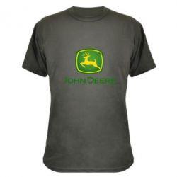 Камуфляжна футболка John Deere logo