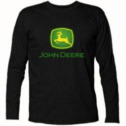 Футболка з довгим рукавом John Deere logo