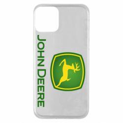Чохол для iPhone 11 John Deere logo
