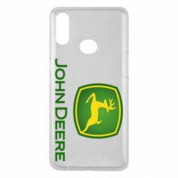Чохол для Samsung A10s John Deere logo