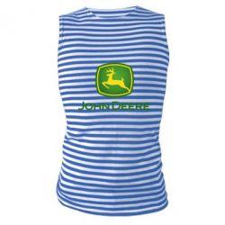 Майка-тільняшка John Deere logo
