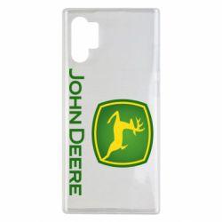 Чохол для Samsung Note 10 Plus John Deere logo
