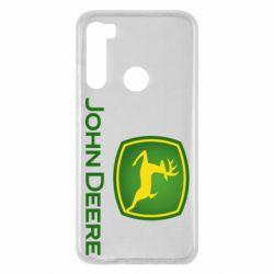 Чехол для Xiaomi Redmi Note 8 John Deere logo