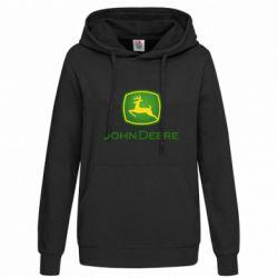 Толстовка жіноча John Deere logo