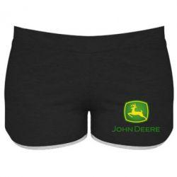 Жіночі шорти John Deere logo