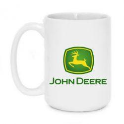 Кружка 420ml John Deere logo