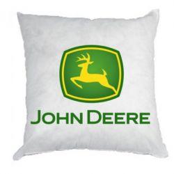 Подушка John Deere logo