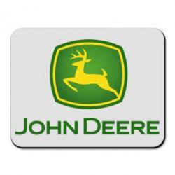 Килимок для миші John Deere logo