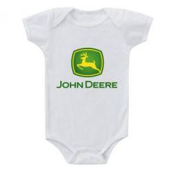Дитячий бодік John Deere logo