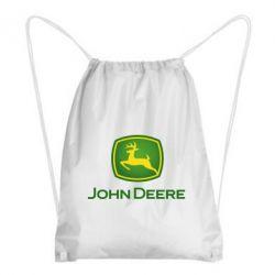 Рюкзак-мішок John Deere logo