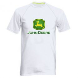Чоловіча спортивна футболка John Deere logo