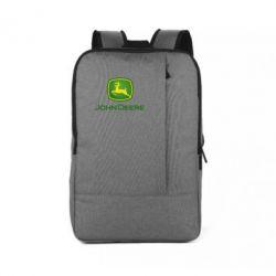 Рюкзак для ноутбука John Deere logo