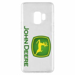 Чохол для Samsung S9 John Deere logo