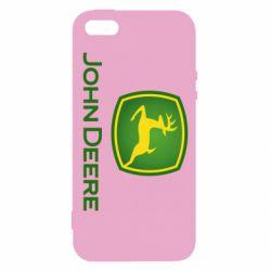 Чохол для iphone 5/5S/SE John Deere logo