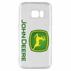 Чохол для Samsung S7 John Deere logo