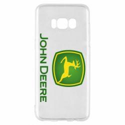 Чохол для Samsung S8 John Deere logo