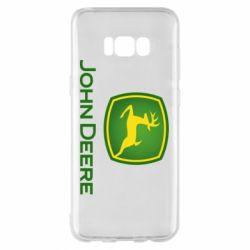 Чохол для Samsung S8+ John Deere logo