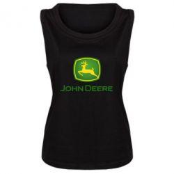 Майка жіноча John Deere logo