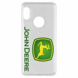 Чехол для Xiaomi Redmi Note 5 John Deere logo
