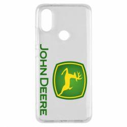 Чехол для Xiaomi Mi A2 John Deere logo