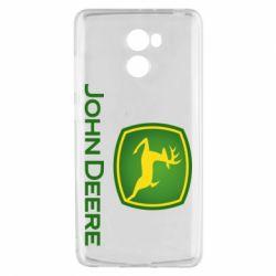 Чехол для Xiaomi Redmi 4 John Deere logo