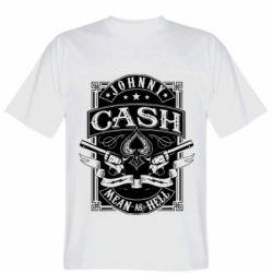Чоловіча футболка Johnny cash mean as hell
