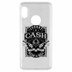 Чохол для Xiaomi Redmi Note 5 Johnny cash mean as hell
