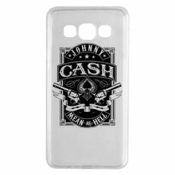 Чохол для Samsung A3 2015 Johnny cash mean as hell