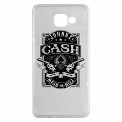 Чохол для Samsung A5 2016 Johnny cash mean as hell