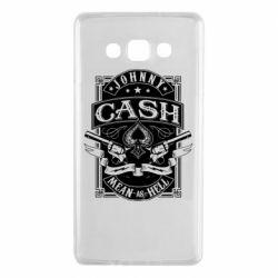 Чохол для Samsung A7 2015 Johnny cash mean as hell