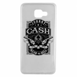 Чохол для Samsung A7 2016 Johnny cash mean as hell