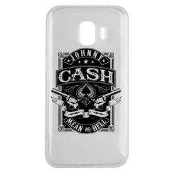 Чохол для Samsung J2 2018 Johnny cash mean as hell