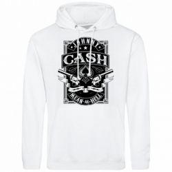 Чоловіча толстовка Johnny cash mean as hell