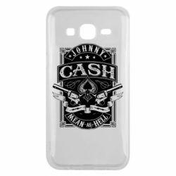 Чохол для Samsung J5 2015 Johnny cash mean as hell